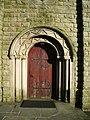 St John's Church, Pendlebury, Doorway - geograph.org.uk - 681191.jpg