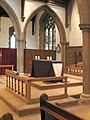 St Leonard, Heston - Sanctuary - geograph.org.uk - 1776311.jpg