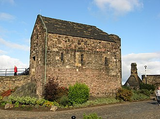 Saint Margaret of Scotland - St Margaret's Chapel in Edinburgh Castle, Edinburgh, Scotland