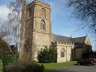 Church of St Mary the Virgin, Whitelackington church in South Somerset, United Kingdom