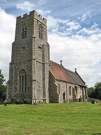 Burgh and Tuttington - Image: St Mary's church geograph.org.uk 863771