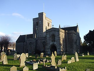 St Marys Church, Magor Church in Monmouthshire, Wales