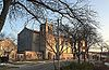 St Peter's Cathedral from Church St, Rockford, IL.jpg