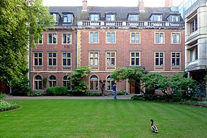 St Peter's College, Oxford - Edwardian era accommodation blocks at St Peter's