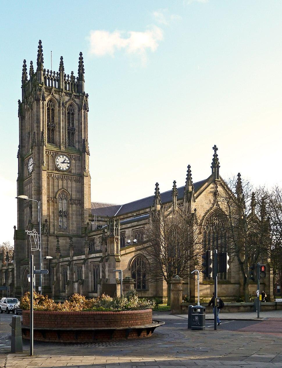 St Peter, Leeds (Leeds Parish Church) (5373648288)