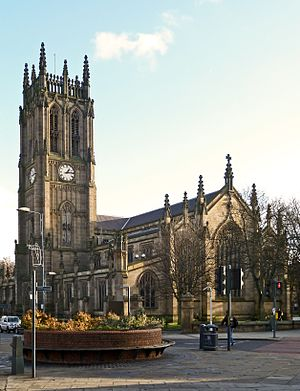 St Peter, Leeds (Leeds Parish Church) (5373648288)