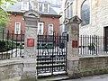 St Stephen Walbrook Churchyard gate 02.jpg