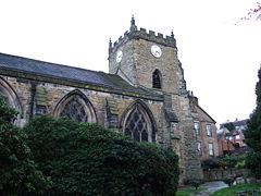 St Thomas the Martyr Parish Church, Upholland.JPG