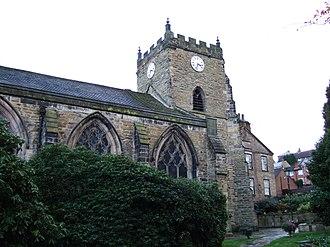 Upholland - Image: St Thomas the Martyr Parish Church, Upholland