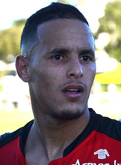 Stade rennais vs USM Alger, July 16th 2016 - Mehdi Zeffane 3.jpg