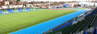 Scotstoun Stadium - Image: Stadium Track and Pitch