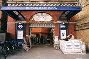 Stamford Brook tube station - Image: Stamford Brook