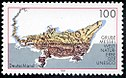 Stamp Germany 1998 MiNr2006 Grube Messel.jpg