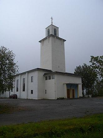 Stamsund Church - Image: Stamsund kyrkje