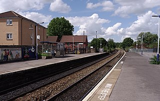 Stapleton Road railway station Railway station in Bristol, England