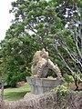 Starr-090520-8206-Melia azedarach-habit with backside dragon dog statue-Keokea-Maui (24929717436).jpg