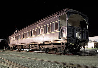 Victorian Railways Royal Train Trains to transport the Royal Family in Australia