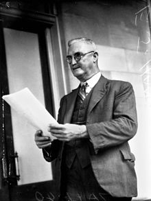 StateLibQld 1 102817 Politician Edward Joseph Hanson MLA, Brisbane, May 1940.jpg