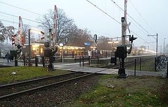 Deurne railway station - Image: Station Deurne Nederland