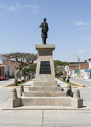 Augusto B. Leguía - Statue of Augusto B. Leguía in Lambayeque