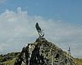 Statue of Eagle Yerevan - Sevan road.jpg