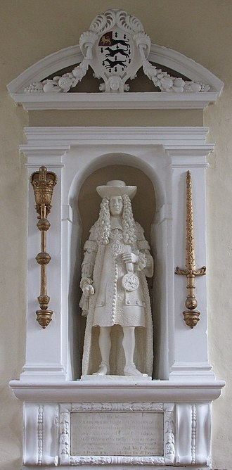 Sir John Moore Church of England Primary School - Statue of Sir John Moore at the school