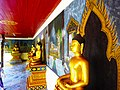 Statues of Buddha in Chiang Mai temple in Thailand South East Asia.jpg