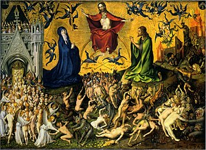 Last Judgment - Stefan Lochner, Last Judgment, c. 1435. Wallraf-Richartz Museum, Cologne