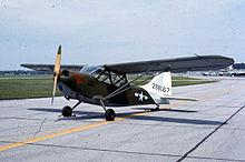 Lo Stinson L-5 era un aereo da ricognizione e collegamento molto usato durante la seconda guerra mondiale