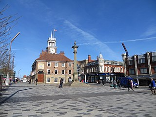 Stockton-on-Tees Town in County Durham, England