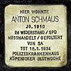 Stolperstein.Köpenick.Schmausstraße 2.Anton Schmaus.1458.jpg