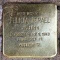 Stolperstein Bleibtreustr 50 (Charl) Felicia Israel.jpg