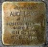 Stolperstein Bruno-Wille-Str 108 (Frihg) Alice Leske.jpg
