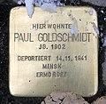 Stolperstein Helmstedter Str 25 (Wilmd) Paul Goldschmidt.jpg