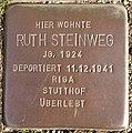 Stolperstein Horstmar Gossenstraße 1 Ruth Steinweg.jpg