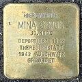 Stolperstein Mina Simon (Springerweg 8 Pohl-Göns).jpg