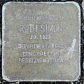 Stolperstein Ruth Simon (Langgasse 38 Butzbach).jpg