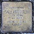 Stolperstein Schleswiger Ufer 5 (Hansa) Sara Kreitstein.jpg
