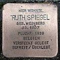Stolperstein Warendorf Schützenstraße 17 Ruth Spiegel.jpg
