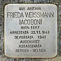 Stolperstein für Frieda Weissmann Iacoboni in Gorizia.jpg