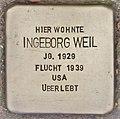 Stolperstein für Ingeborg Weil (Heidelberg).jpg
