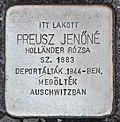 Stolperstein für Jenöne Preusz (Miskolc).jpg