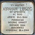 Stolpersteine Abraham Lipszyc 5 rue des Cordonniers Strasbourg.jpg