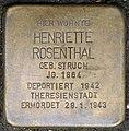 Stolpersteine Köln, Henriette Rosenthal (Genter Straße 1).jpg