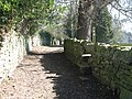 Stone-step stile on the footpath south of Main Street - geograph.org.uk - 1287579.jpg