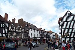 Carrers de Stratford-upon-Avon