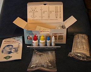 Rapid diagnostic test - Rapid strep test kit
