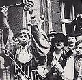 Studenci WSP w Opolu z kluczem do miasta.JPG