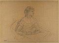 "Study for ""Mme Théodore Gobillard"" (née Yves Morisot) MET 1984.76.jpg"