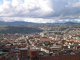 Sucre - Panorama of Sucre